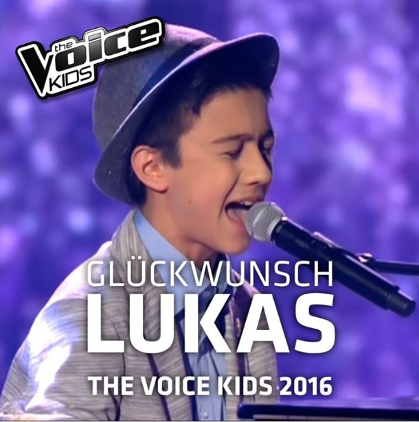 voice kids video lukas when were young clip